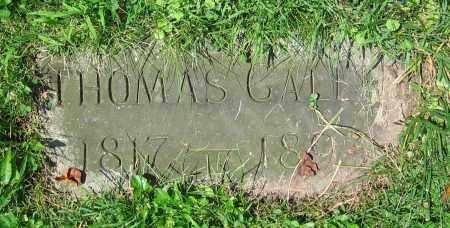 GALLEY, THOMAS - Clark County, Ohio | THOMAS GALLEY - Ohio Gravestone Photos