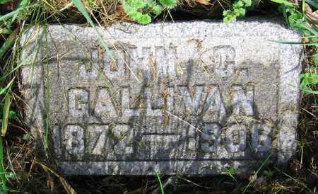 GALLIVAN, JOHN G. - Clark County, Ohio | JOHN G. GALLIVAN - Ohio Gravestone Photos