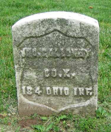 GALLOWAY, JNO. - Clark County, Ohio | JNO. GALLOWAY - Ohio Gravestone Photos