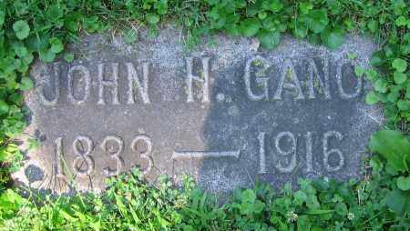 GANO, JOHN H. - Clark County, Ohio | JOHN H. GANO - Ohio Gravestone Photos