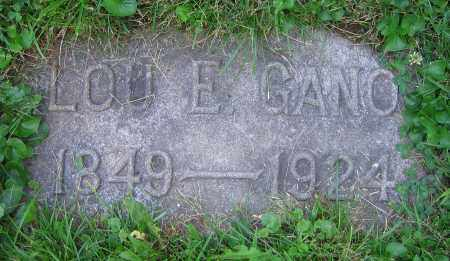 GANO, LOU E. - Clark County, Ohio | LOU E. GANO - Ohio Gravestone Photos