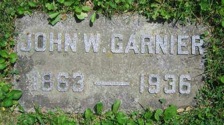 GARNIER, JOHN W. - Clark County, Ohio | JOHN W. GARNIER - Ohio Gravestone Photos