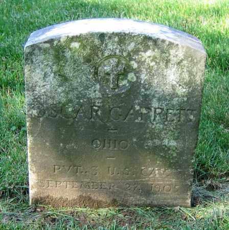 GARRETT, OSCAR - Clark County, Ohio | OSCAR GARRETT - Ohio Gravestone Photos