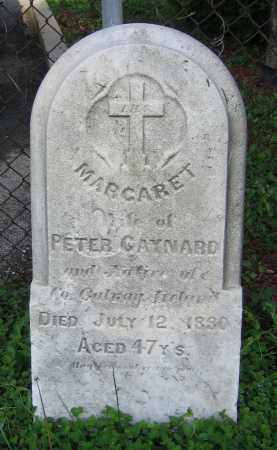 GAYNARD, MARGARET - Clark County, Ohio | MARGARET GAYNARD - Ohio Gravestone Photos