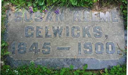 REEME GELWICKS, SUSAN - Clark County, Ohio | SUSAN REEME GELWICKS - Ohio Gravestone Photos