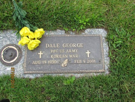 GEORGE, DALE - Clark County, Ohio | DALE GEORGE - Ohio Gravestone Photos