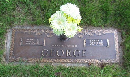 GEORGE, MARY E - Clark County, Ohio   MARY E GEORGE - Ohio Gravestone Photos