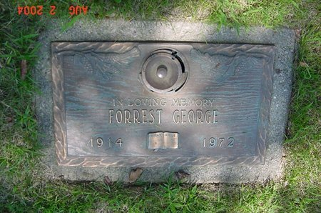 GEORGE, FORREST - Clark County, Ohio | FORREST GEORGE - Ohio Gravestone Photos