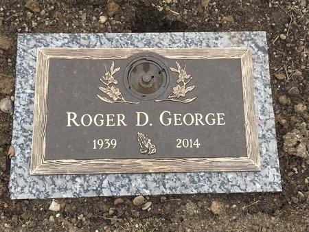 GEORGE, ROGER D - Clark County, Ohio   ROGER D GEORGE - Ohio Gravestone Photos
