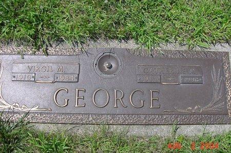 GEORGE, VIRGIL M - Clark County, Ohio | VIRGIL M GEORGE - Ohio Gravestone Photos