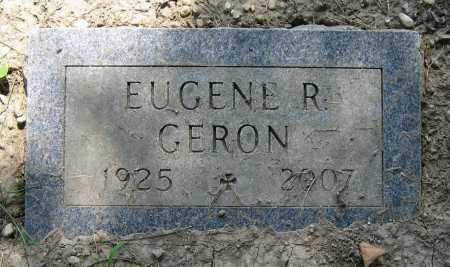 GERON, EUGENE R. - Clark County, Ohio | EUGENE R. GERON - Ohio Gravestone Photos