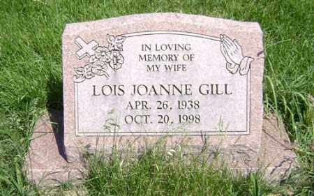 GILL, LOIS JOANNE - Clark County, Ohio | LOIS JOANNE GILL - Ohio Gravestone Photos