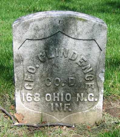 GLINDENCE, GEO. - Clark County, Ohio | GEO. GLINDENCE - Ohio Gravestone Photos