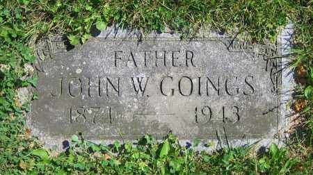 GOINGS, JOHN W. - Clark County, Ohio | JOHN W. GOINGS - Ohio Gravestone Photos