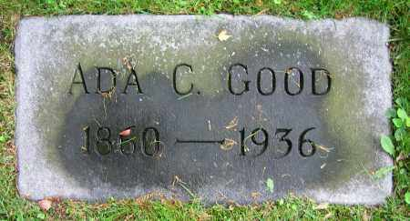 GOOD, ADA C. - Clark County, Ohio | ADA C. GOOD - Ohio Gravestone Photos