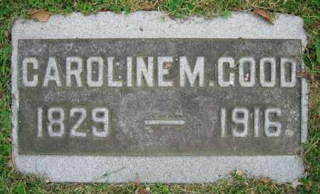 GOOD, CAROLINE M. - Clark County, Ohio | CAROLINE M. GOOD - Ohio Gravestone Photos