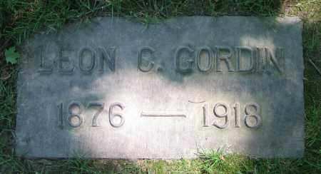 GORDIN, LEON C. - Clark County, Ohio | LEON C. GORDIN - Ohio Gravestone Photos