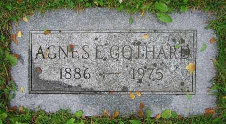 GOTHARD, AGNES E. - Clark County, Ohio | AGNES E. GOTHARD - Ohio Gravestone Photos