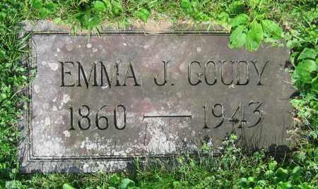 GOUDY, EMMA J. - Clark County, Ohio | EMMA J. GOUDY - Ohio Gravestone Photos