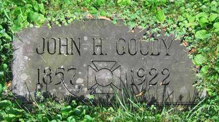 GOUDY, JOHN H. - Clark County, Ohio | JOHN H. GOUDY - Ohio Gravestone Photos
