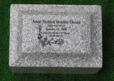 GOULD, ANNE - Clark County, Ohio | ANNE GOULD - Ohio Gravestone Photos