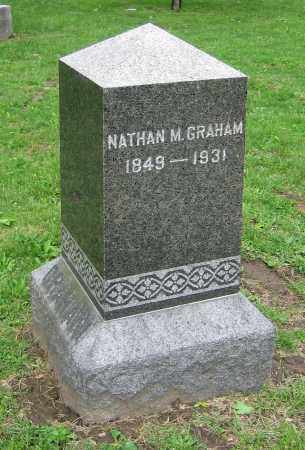 GRAHAM, NATHAN M. - Clark County, Ohio | NATHAN M. GRAHAM - Ohio Gravestone Photos