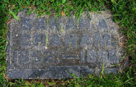 GRAHAM, SARAH A. - Clark County, Ohio | SARAH A. GRAHAM - Ohio Gravestone Photos