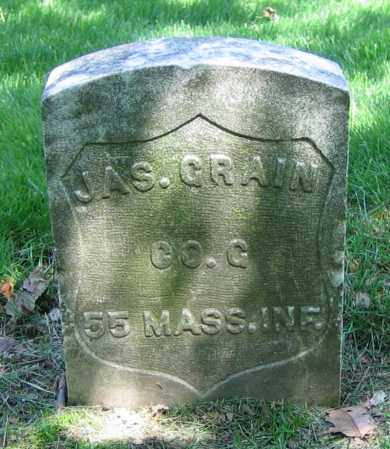 GRAIN, JAS. - Clark County, Ohio | JAS. GRAIN - Ohio Gravestone Photos