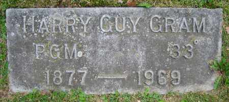 GRAM, HARRY GUY - Clark County, Ohio | HARRY GUY GRAM - Ohio Gravestone Photos