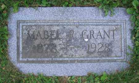 GRANT, MABEL R. - Clark County, Ohio | MABEL R. GRANT - Ohio Gravestone Photos