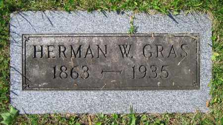 GRAS, HERMAN W. - Clark County, Ohio | HERMAN W. GRAS - Ohio Gravestone Photos