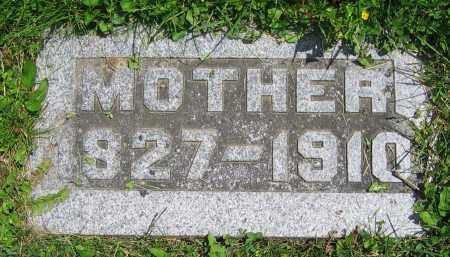 GRAUER, 'MOTHER' - Clark County, Ohio | 'MOTHER' GRAUER - Ohio Gravestone Photos