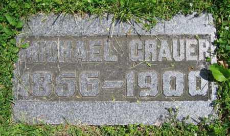 GRAUER, MICHAEL - Clark County, Ohio | MICHAEL GRAUER - Ohio Gravestone Photos