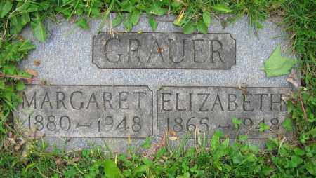 GRAUER, MARGARET - Clark County, Ohio | MARGARET GRAUER - Ohio Gravestone Photos