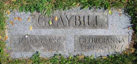 GRAYBILL, GEORGIANNA - Clark County, Ohio | GEORGIANNA GRAYBILL - Ohio Gravestone Photos