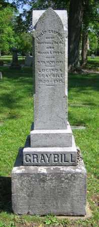 GRAYBILL, LUCINDA A. - Clark County, Ohio | LUCINDA A. GRAYBILL - Ohio Gravestone Photos