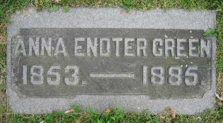 GREEN, ANNA - Clark County, Ohio | ANNA GREEN - Ohio Gravestone Photos