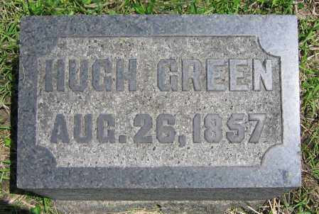 GREEN, HUGH - Clark County, Ohio | HUGH GREEN - Ohio Gravestone Photos