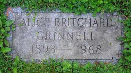 GRINNELL, ALICE - Clark County, Ohio | ALICE GRINNELL - Ohio Gravestone Photos
