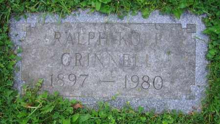 GRINNELL, RALPH KOLP - Clark County, Ohio | RALPH KOLP GRINNELL - Ohio Gravestone Photos