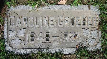 GROEBER, CAROLINE - Clark County, Ohio | CAROLINE GROEBER - Ohio Gravestone Photos