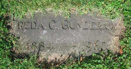 GUNDERMAN, FREDA C. - Clark County, Ohio | FREDA C. GUNDERMAN - Ohio Gravestone Photos