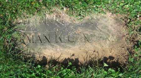 GUNDERMAN, HERMAN K. - Clark County, Ohio | HERMAN K. GUNDERMAN - Ohio Gravestone Photos