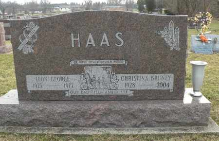 BRUNEY HAAS, CHRISTINA - Clark County, Ohio | CHRISTINA BRUNEY HAAS - Ohio Gravestone Photos