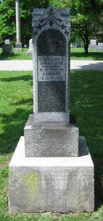 HAERR, VALENTINE G. - Clark County, Ohio | VALENTINE G. HAERR - Ohio Gravestone Photos