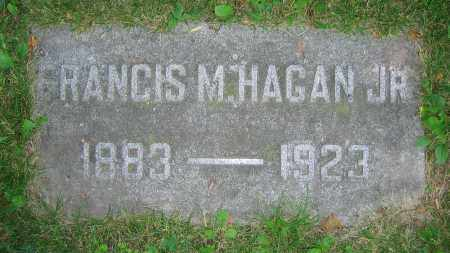 HAGAN, FRANCIS M.  JR. - Clark County, Ohio | FRANCIS M.  JR. HAGAN - Ohio Gravestone Photos