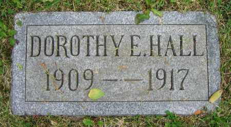 HALL, DOROTHY E. - Clark County, Ohio | DOROTHY E. HALL - Ohio Gravestone Photos