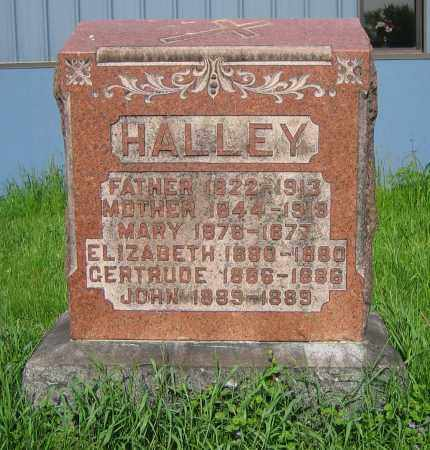 HALLEY, MARY - Clark County, Ohio | MARY HALLEY - Ohio Gravestone Photos