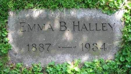 HALLEY, EMMA B. - Clark County, Ohio | EMMA B. HALLEY - Ohio Gravestone Photos