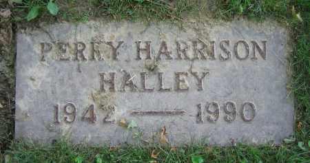 HALLEY, PERRY HARRISON - Clark County, Ohio | PERRY HARRISON HALLEY - Ohio Gravestone Photos